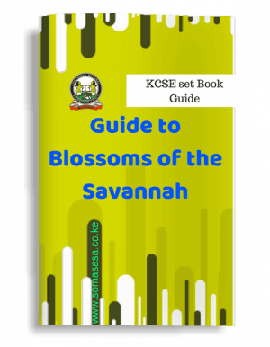 Blossoms of the Savannah Notes, Excerpts and Questions
