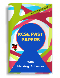KCSE Past Papers with Marking Schemes on Somasasa