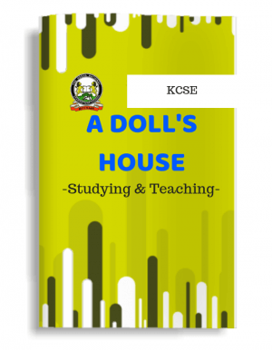 A Doll's House study guide, notes, excerpts summary, questions