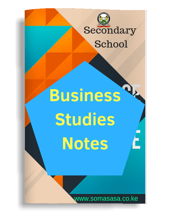Form 2 Business Studies Notes