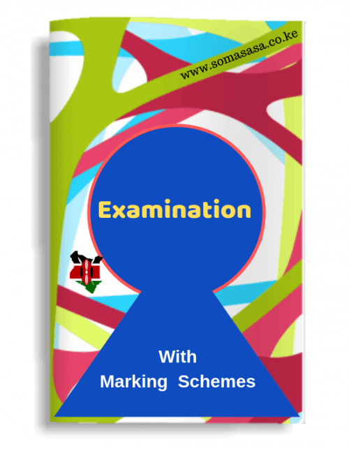 Somasasa Exams Examination in Kenya KCSE Secondary Termy Mid-term exams Secondary School Exams