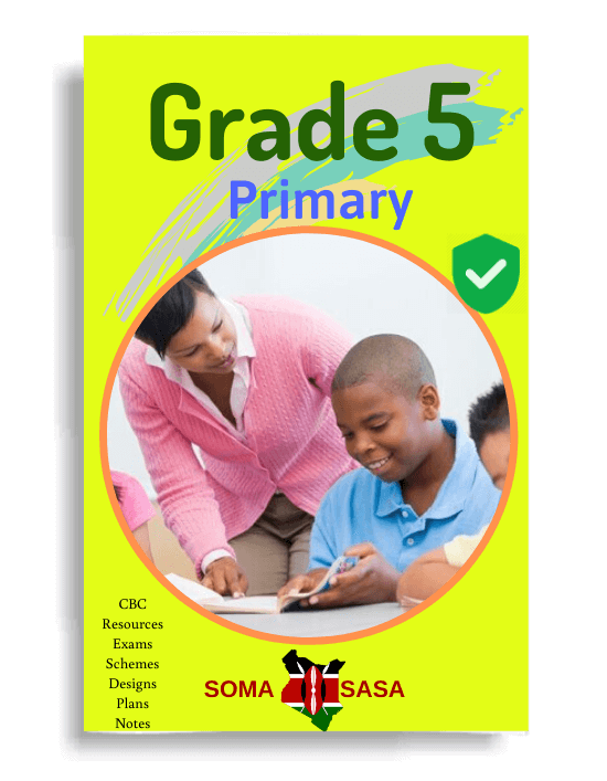 Grade 5 Schemes of Work
